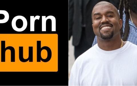 以后会 Yeezy x Pornhub?Kanye West 获得成人网站 Pornhub「终生尊爵会员资格」!