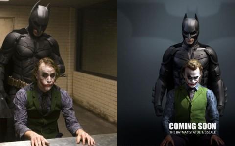 「杯麵在你背后,他非常火!」1/3 模型还原《黑暗骑士》经典对决监狱场景,蝙蝠侠迷必收!