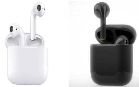 终于确定发售?AirPods 2 耳机除了万年大众白,还有「黑魂」配色!