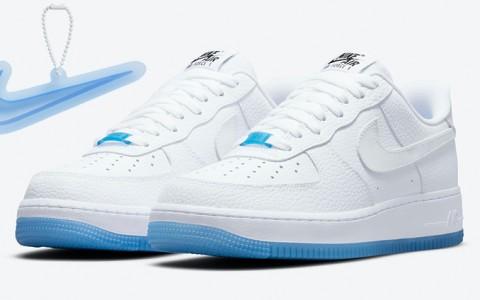 勾勾照阳光会变色!Nike Air Force 1 Low「紫外线」正式发布,夏日最佳球鞋非它莫属!