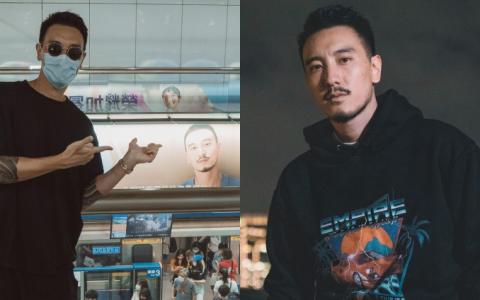 本尊同框广告代言海报! 野生王阳明北捷月台打卡粉全暴动